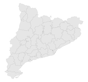 Cataluña Mapa
