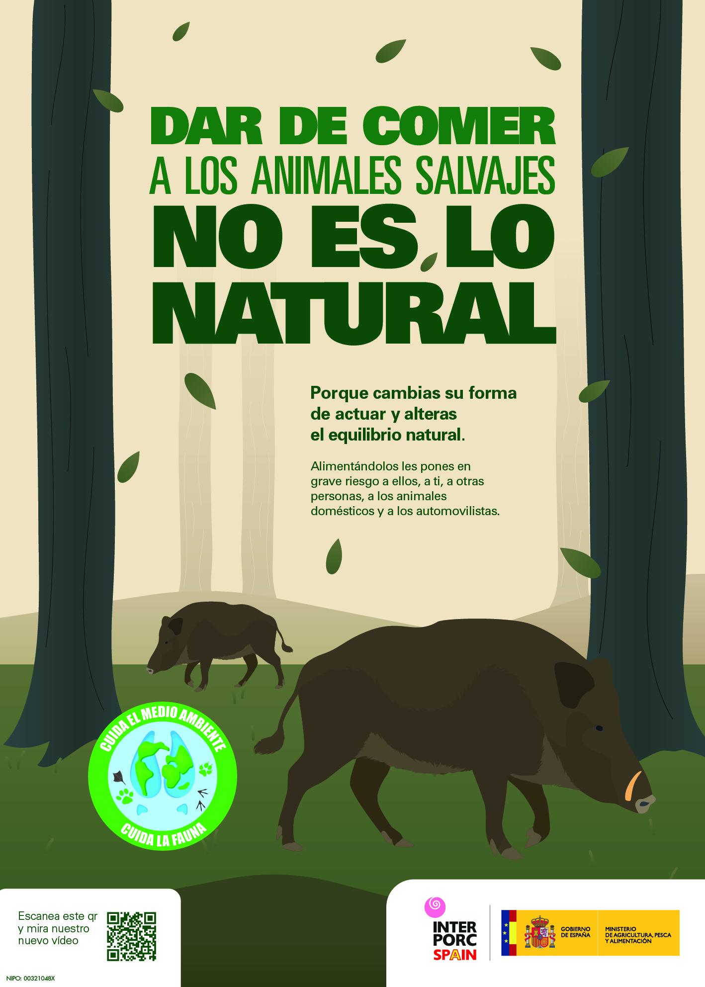 Campaña alimentación animales silvestres