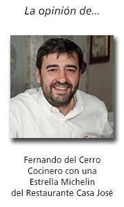 Entrevista a Fernando del Cerro, chef del Restaurante Casa José